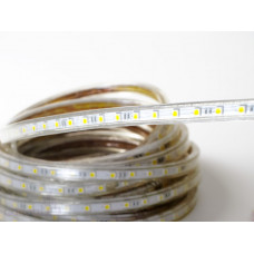 Светодиодная лента 220 V LP IP68 5050/60 LED (красный, standart, 220)