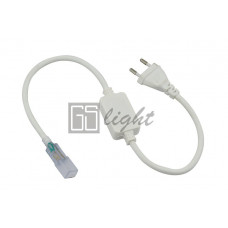 Шнур power cord для подключения светодиодных лент 3528 220V