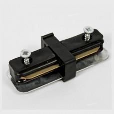 Коннекторы прямые черные для направляющих