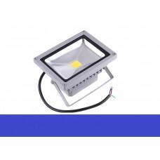 Светодиодный прожектор 30W IP65 220V Blue